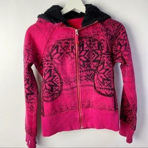 Lululemon Special/edition snowflake red fair isle